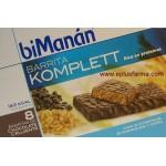 Bimanan Komplett 8 barritas chocolate crujiente