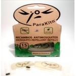 Parakito recambio antimosquitos