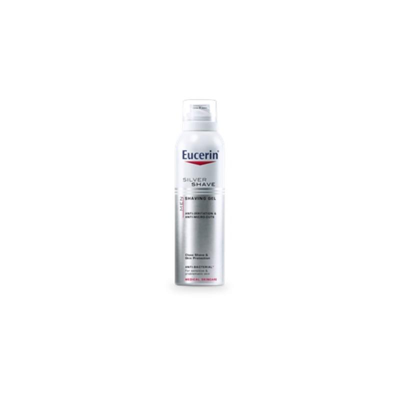 Eucerin Men gel de afeitar piel sensible 150 ml