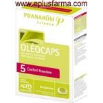 Oleocaps 5 Confort femenino 30 cápsulas
