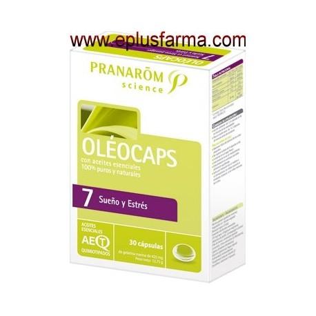 Oleocaps 7 Sueño y Estrés 30 cápsulas
