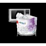 Bolsas Esterilizadoras a vapor para microondas Avent 5 unidades
