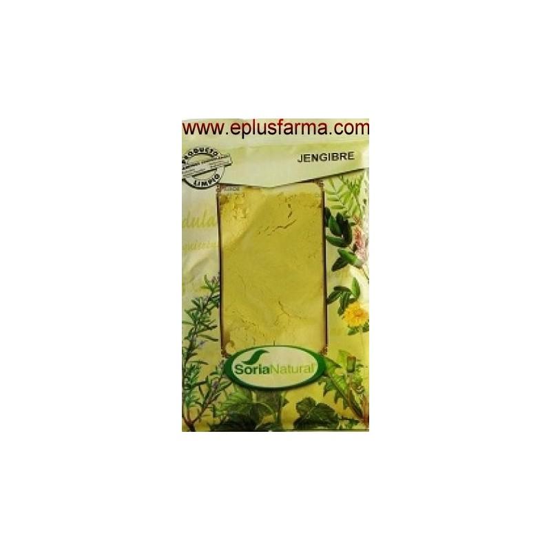 Jengibre bolsa 75 gr Soria Natural