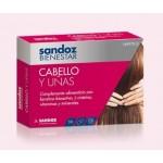 Cabello y uñas Sandoz Bienestar 30 capsulas