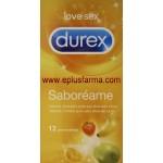 Durex Saboréame 12 preservativos sabores a frutas