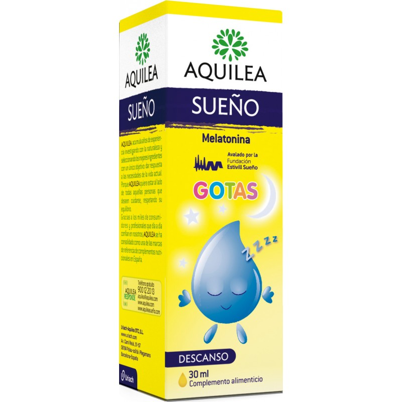 Aquilea Sueño gotas Melatonina 30 ml