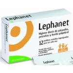 Lephanet 12 toallitas estériles parpados y pestañas