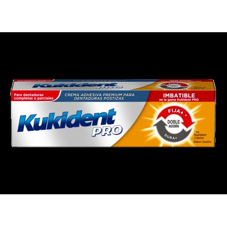 Kukident pro doble acción 60 gramos