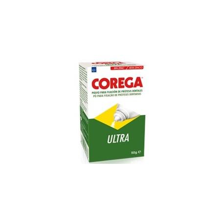 Corega Ultra polvo para fijación de prótesis 50 gramos