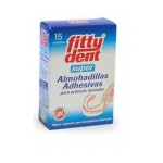 Fittydent 15 almohadillas adhesivas para prótesis dentales