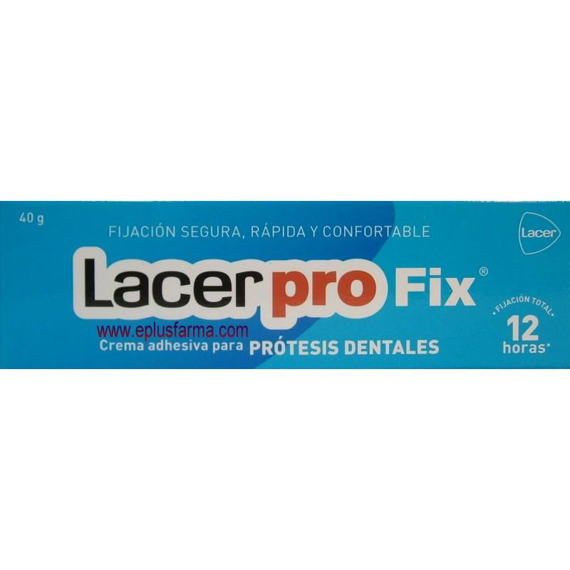 Lacer profix crema para prótesis dentales 40 gramos