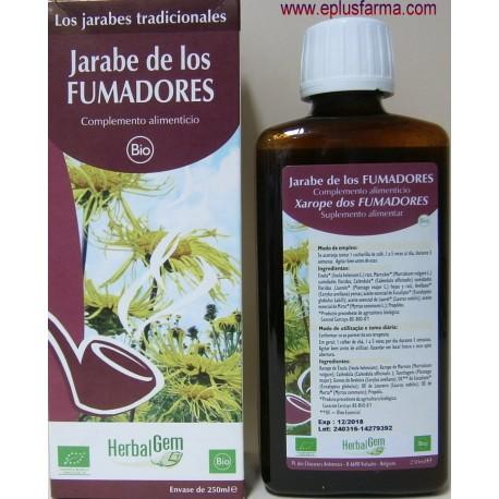 Jarabe para Fumadores Herbalgem 250 ml