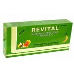 Revital Ginseng+Jalea Real+Vit C 20 ampollas bebibles