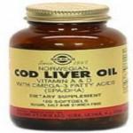 Solgar Aceite de higado de bacalao 250 capsulas