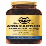 Solgar Complejo de Astaxantina 4mg. 30 cápsulas