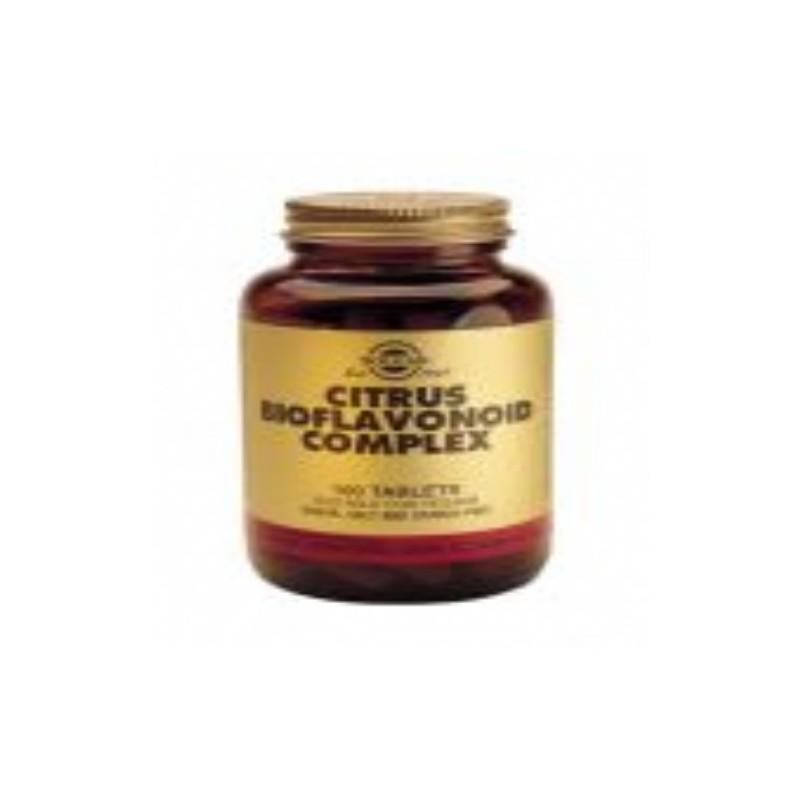 Solgar Complejo de Bioflavonoides Citrico. 100 com
