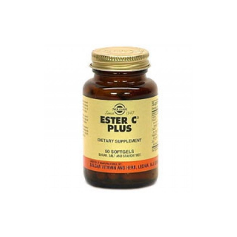 Solgar Ester-C Plus 500 mg 50 caps