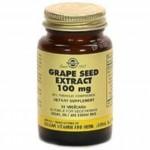 Solgar Extracto de semilla de Uva 100mg. 30 cap