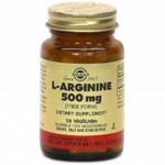 Solgar L-Arginina 500 mg. 50 caps