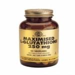 Solgar L-Glutation Maximizado 250 mg. 60 caps