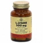 Solgar L-Lisina 500 mg. 50 caps