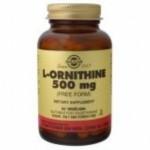 Solgar L-Ornitina 500 mg. 50 caps.